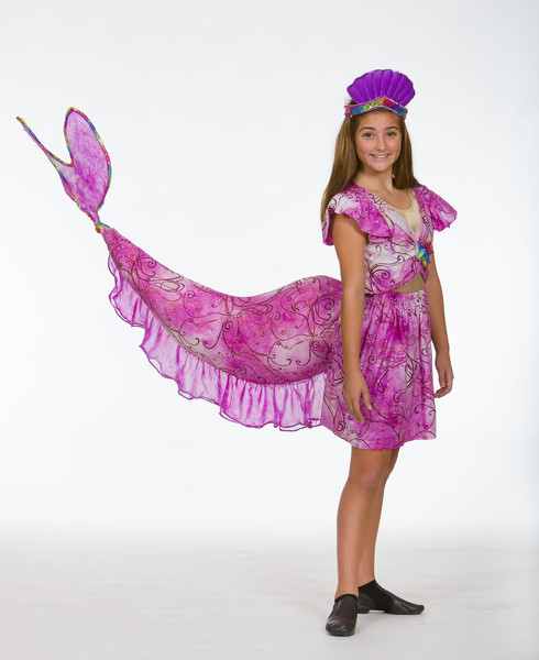 Mermaid tail Style 1 ...  sc 1 st  Heartland Costumes & Little Mermaid Costumes for Rent | Heartland Costumes